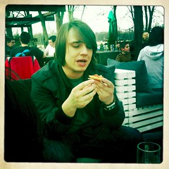 Marko eating puss...pizza | by mariotomic.com
