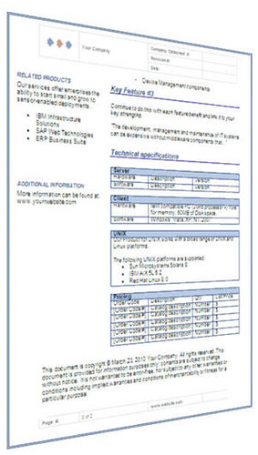 Electronic Datasheet Template  Ms Word  These Datasheet Te  Flickr