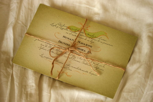 Vintage Mexican Wedding Invitations Sd Full Set With