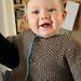 Beren in his new sweater