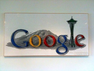 Google Kirkland - LEGO Google Seattle Logo | by Chris Pirillo
