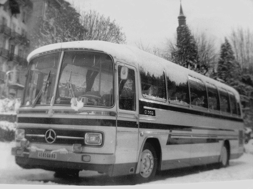 Autocar MERCEDES BENZ O302 Photo Prise En Autriche Coll