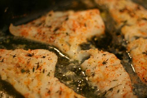 Lemon herb cod2 sarah sarah 39 s cucina bella flickr for Herb cod recipe