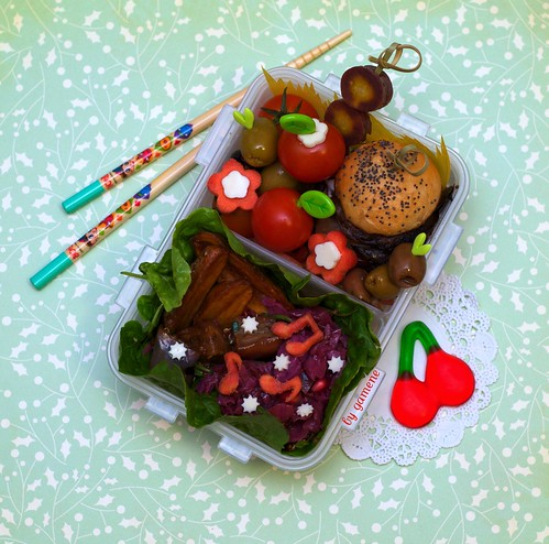 portobello slider bento | by gamene