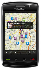 Loopt - Discover Map - BlackBerry Storm | by loopt