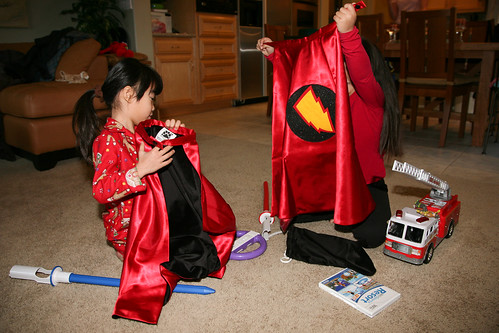 20091225 we got capes | by Donna & Andrew