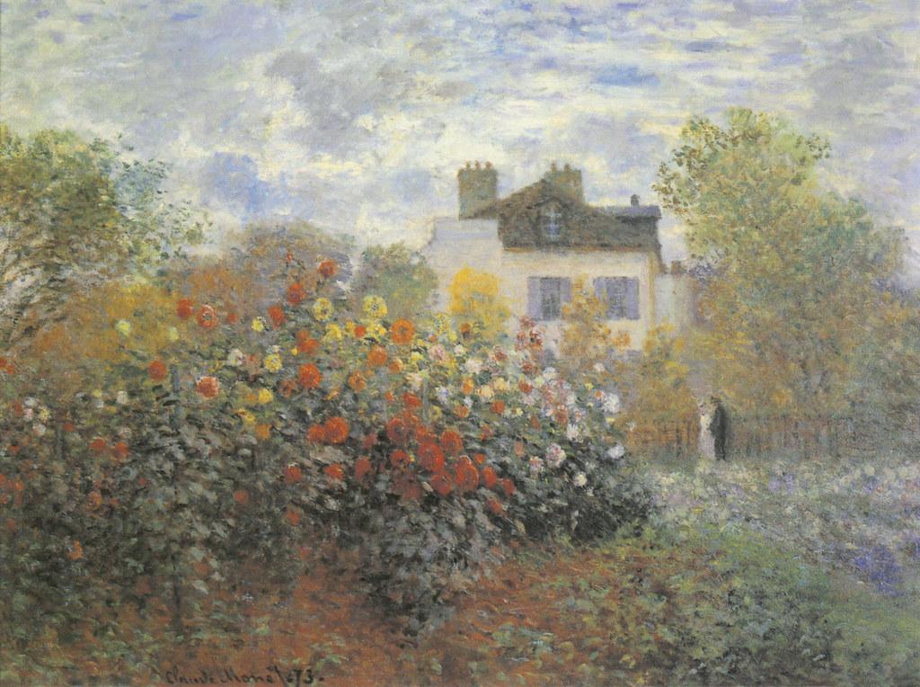 W 286 claude monet le jardin de monet argenteuil 1873 flickr - Les jardins de monet ...