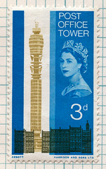post office tower postage stamp | by maraid