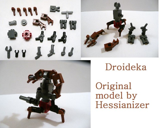 Droideka Instructions Here Are The Droideka Instructions Flickr