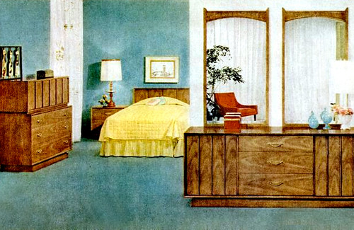 Bedroom 1960 furniture ad kimberly lindbergs flickr for 1960 bedroom furniture for sale