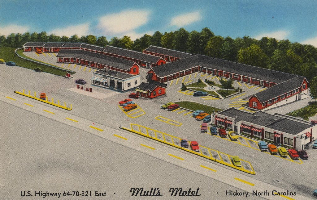 Mull's Motel - Hickory, North Carolina