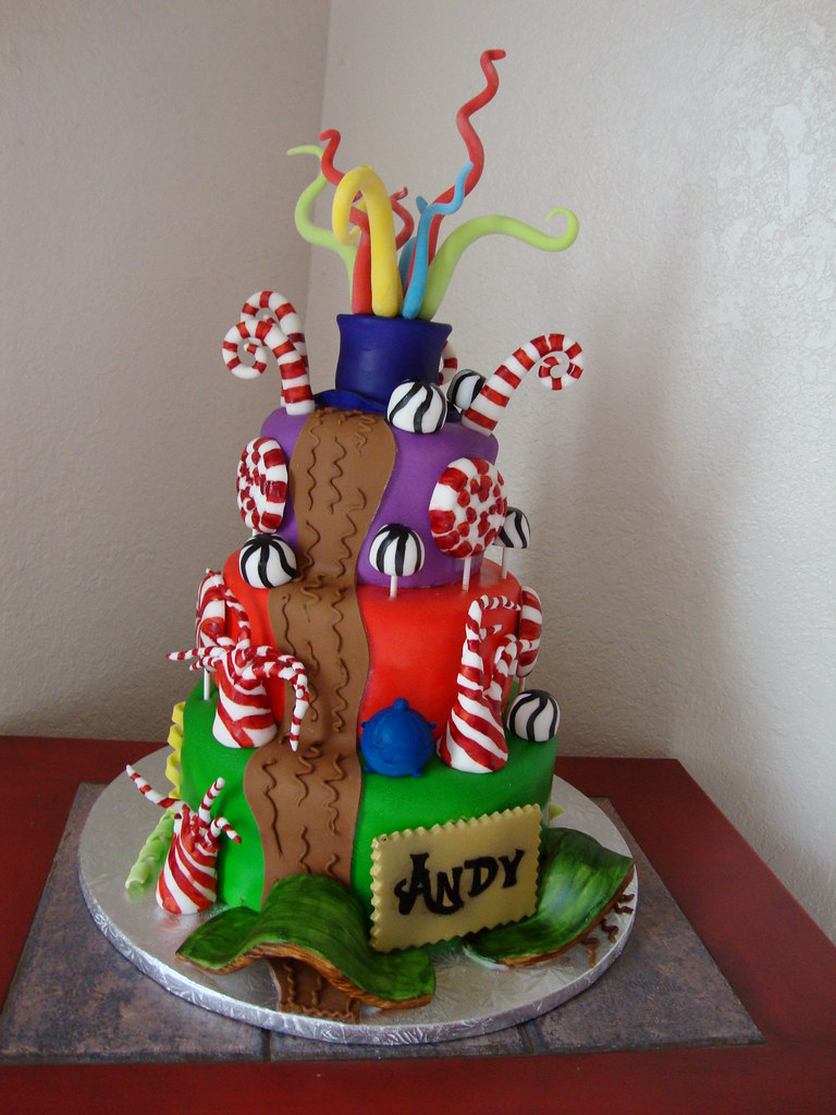charlie the chocolate factory cake laura varela  charlie the chocolate factory cake by laura s cake world