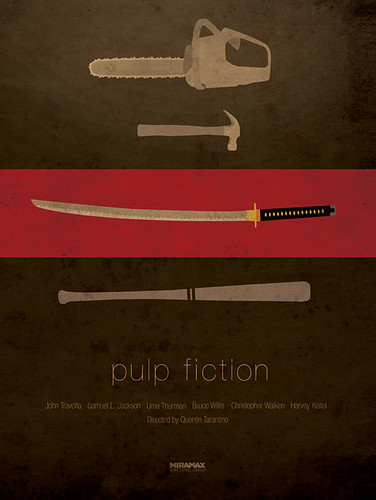pulp_fiction_minimalist_poster | by Corona_Coming_Attractions