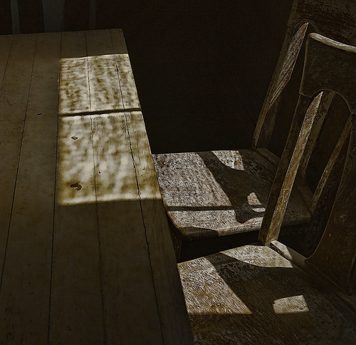 Two Chairs.  Bodie ghost town, California. | by Randy Weiner Photography