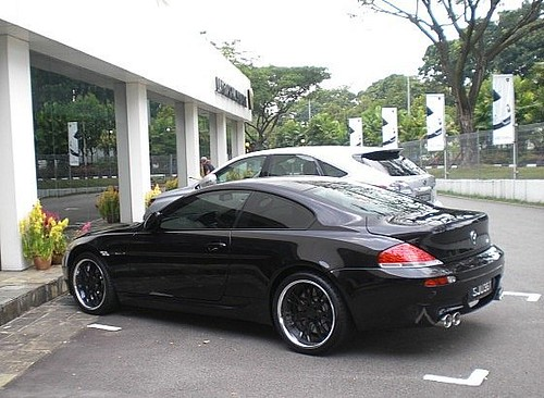 BMW 6 SERIES COUPE IN SINGAPORE 261 | nice blacked out BMW ...