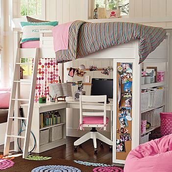 Pottery Barn Sleep And Study Loft
