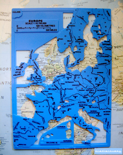 Map stencil of europe used in classrooms to help draw maps flickr acediscovery map stencil of europe by adrian acediscovery gumiabroncs Images