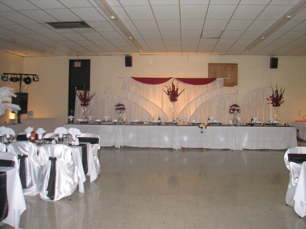 Wedding Reception Backdrop Ideas Heres an idea for a back Flickr