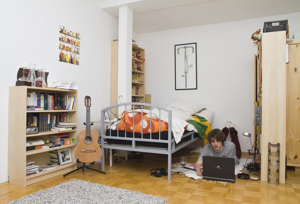 Teenage Rooms With Grey Walls