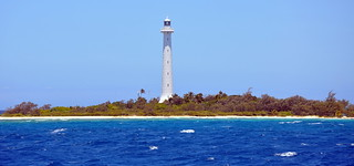 Beautiful Amedee Lighthouse from the pacific ocean | by Eustaquio Santimano