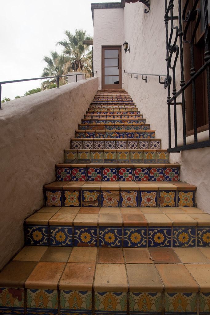 Spanish tile adrian mojica flickr for Spanish revival tile
