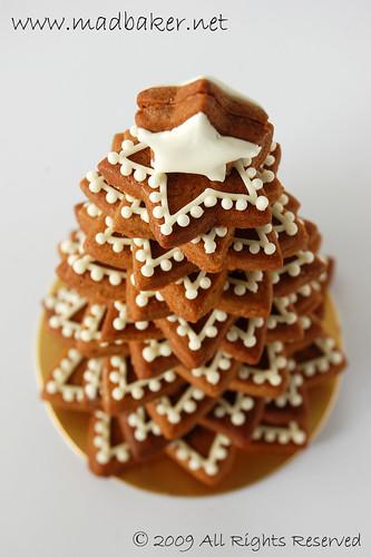 3d Gingerbread Christmas Tree Karen Chong Flickr
