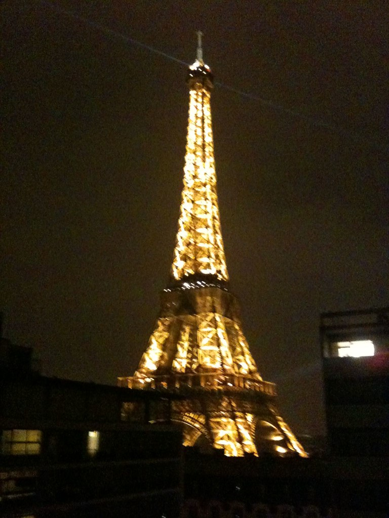 Eiffel Tower Paris France From Room In Pullman Hotel Flickr