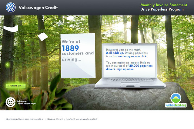 Vw Credit Drive Paperless Website Client Vw Credit Firm Flickr