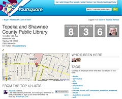 Library entry in foursquare | by David Lee King