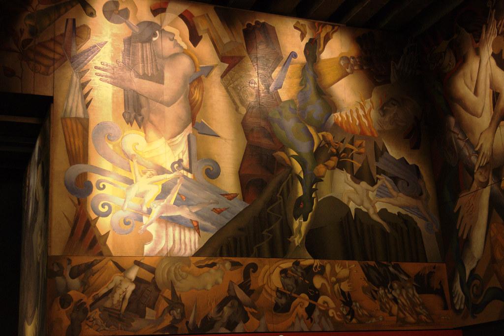 mural de estaci n universidad de chile la estaci n del ForMural Metro U De Chile