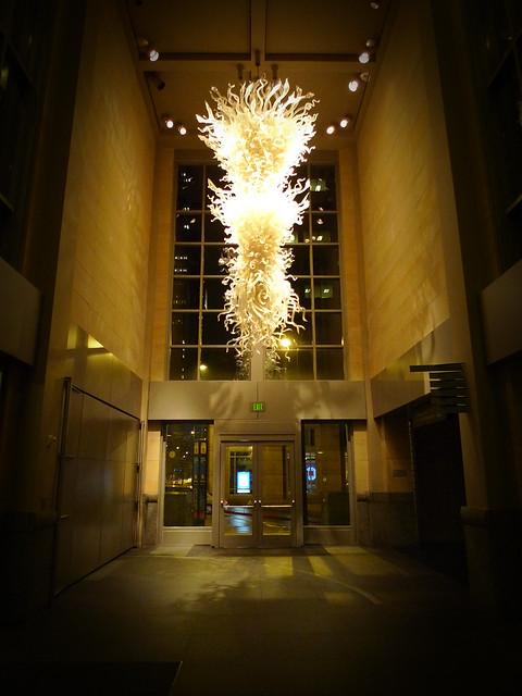 Blown Glass Chandelier Seattle