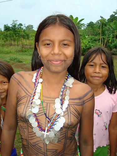 Embera Mujeres Indigenas Indigenous Panama 1 Panama