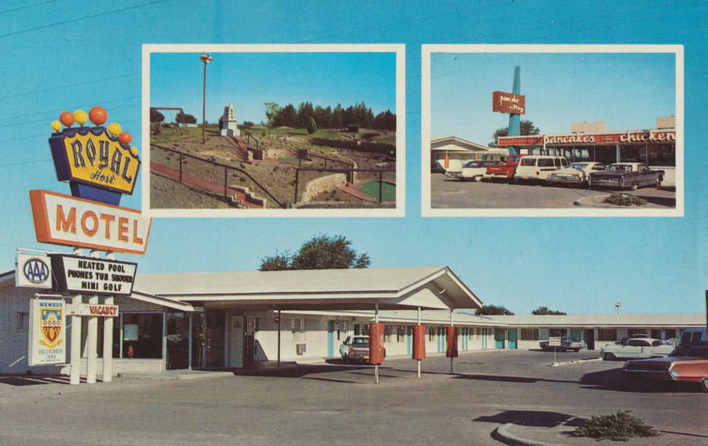Royal Host Motel - Las Cruces, New Mexico