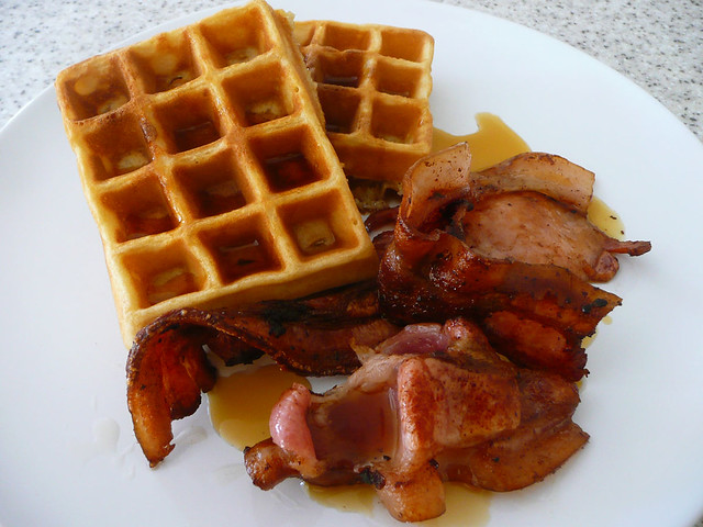 Waffles, bacon and maple syrup | Breakfast 02/04/2010 | The Food ...