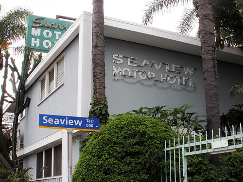 seaview motor hotel along ocean blvd in santa monica