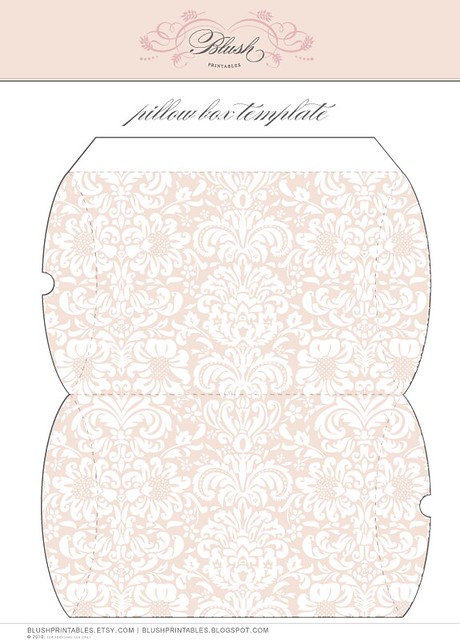 Printable Pillow Box Create Your Own Designer Look Right