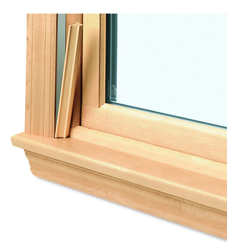 400 series woodwright double hung insert window wood inter for Wood double hung andersen 400 series