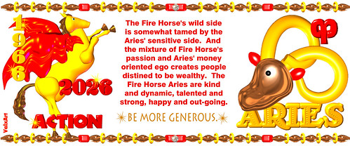 valxart 1966 2036 chinese zodiac fire horse people born ar flickr. Black Bedroom Furniture Sets. Home Design Ideas