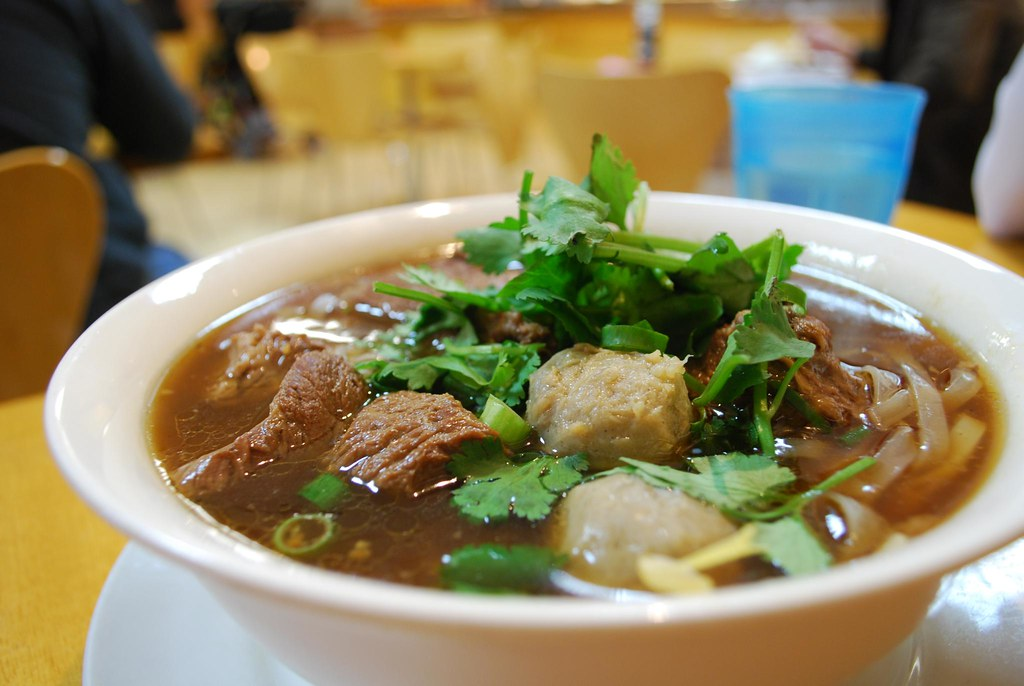 Spicy Thai Noodle Soup Thai Beef Noodle Soup