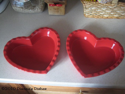 Heart Baking Dishes | by Dianne's Dishes
