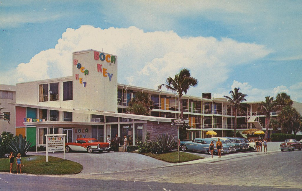 Boca Key Motel - Ft. Lauderdale, Florida