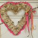 Ruffled Heart Wreath