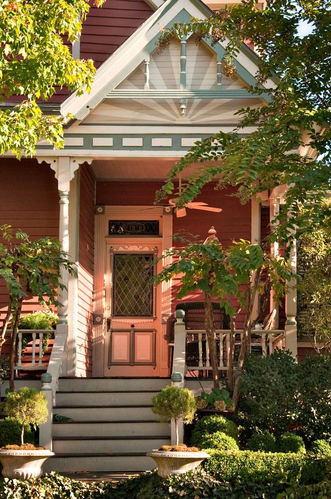 Victorian porch 3 fourth ward charlotte north carolina for Ward builders nc