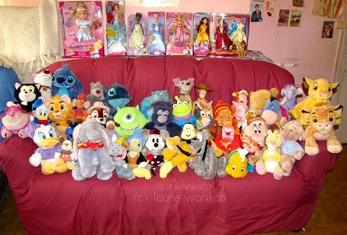 Peluches Disney Laurie Wonkah Flickr