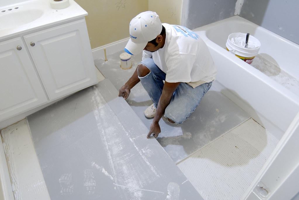 Gypsum Tile Backer Board : Densshield r tile backer is a