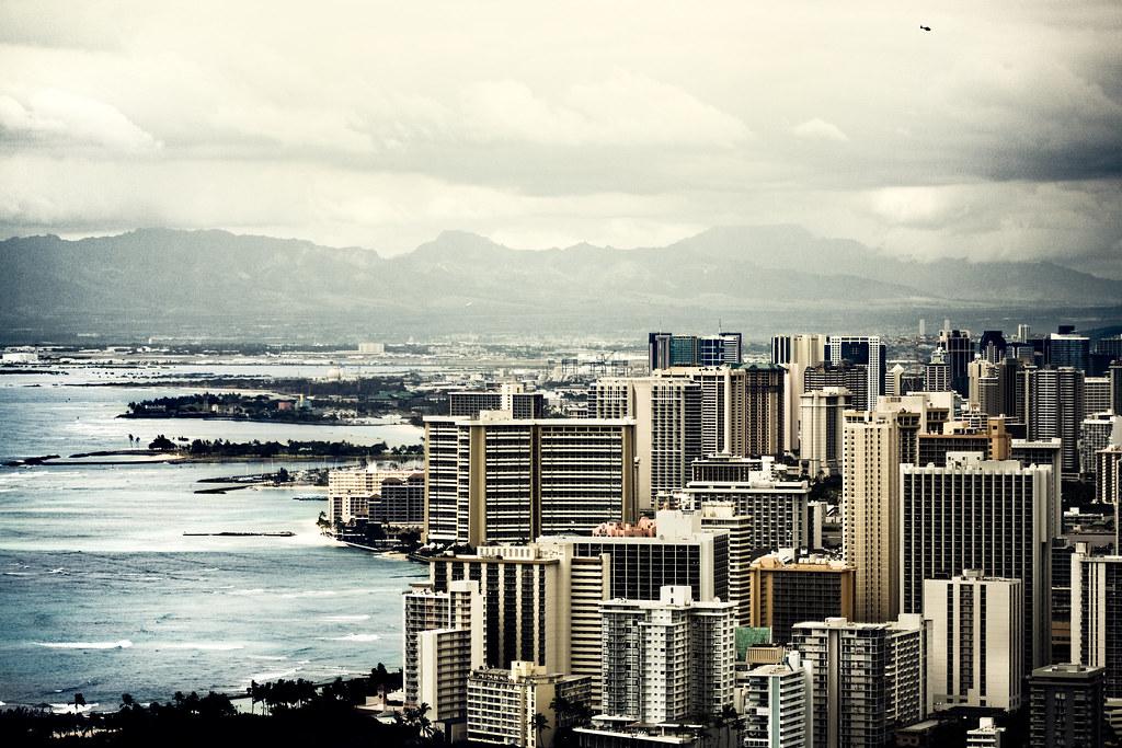 tsunami city a city on the stand still honolulu hawaii flickr