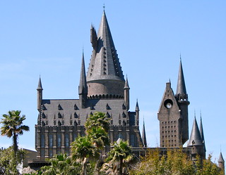 Hogwarts from Temporary Bridge | by DestinationsInFlorida