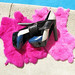 pierre hardy shoes by the pool pink fur
