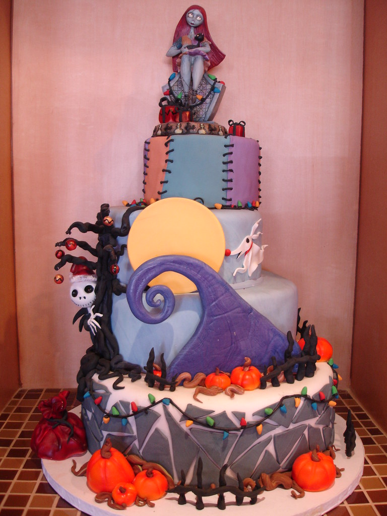 nightmare before christmas cake nightmare before cake this cake is inspired by 6164