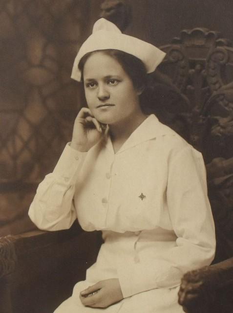 attractive 1920 u0026 39 s nurse photograph